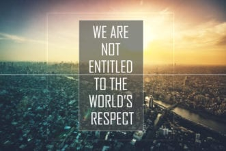 world respect entitled