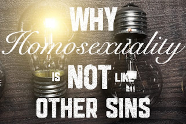 Why homosexuality is a sin galleries 57