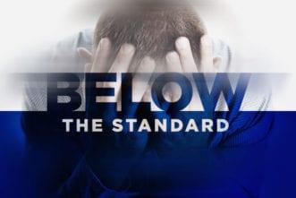 below standard performance