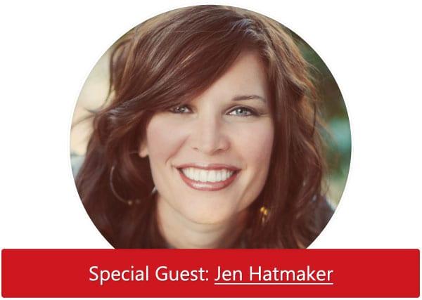 Listen Now: Special Guest Jen Hatmaker