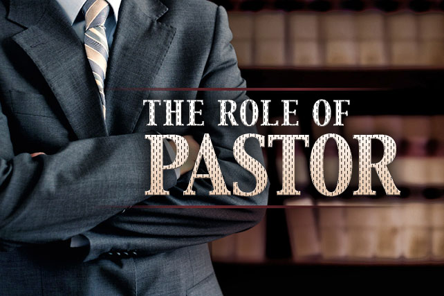 Role of a pastor
