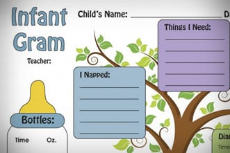 It's just a picture of Versatile Printable Church Nursery Forms