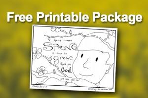 Printable - Spring