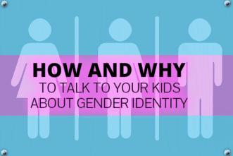 gender identity children talk parents
