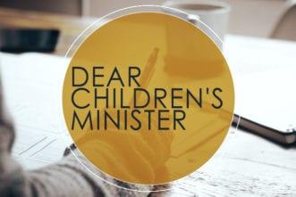 childrens minister