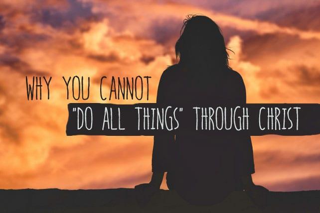 Through Christ all things