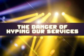 Danger hype service church
