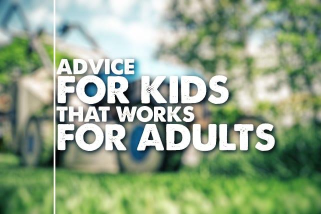 advice adult kids