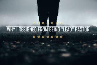 resigned pastor