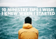 Ministry Tips