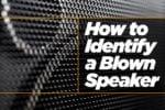 Identify a Blown Speaker