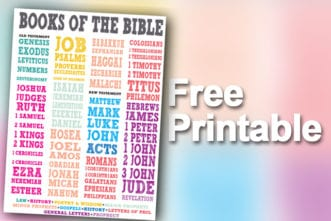 Printable - Bible