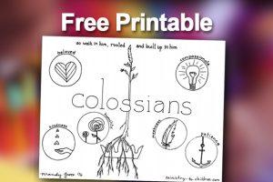 Printable - Colossians