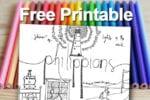 Printable - Philippians