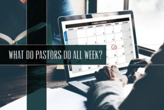 What Do Pastors Do All Week?