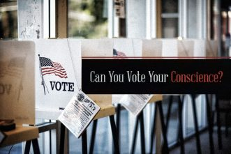 Can You Vote Your Conscience?