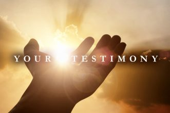 Your Testimony Isn't About You