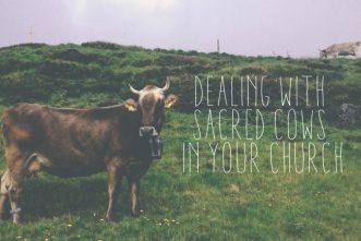 5 Options for Dealing with Sacred Cows in Your Church