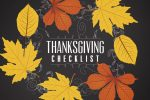 A 7 Step Checklist for the Best Thanksgiving Ever