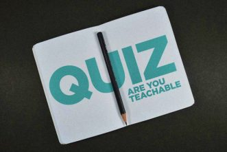 QUIZ: How Teachable Are You?