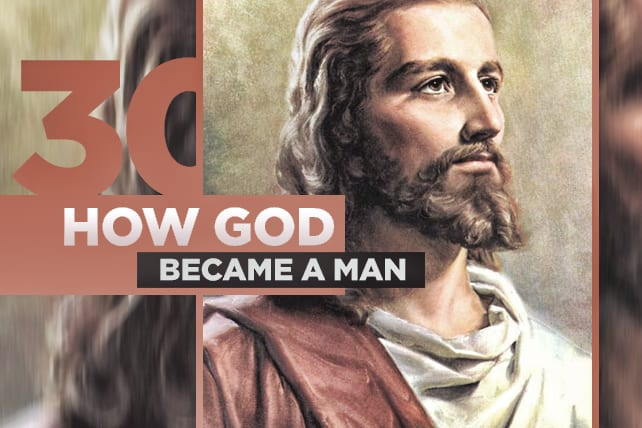 articles how can jesus be god and man