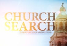 Why The Search For A Church That Meets Your Needs Is Futile