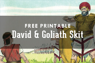 Impeccable image throughout david and goliath printable story