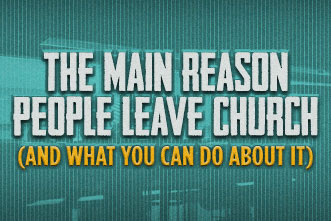 The Main Reason People Leave Church (and What You Can Do ...