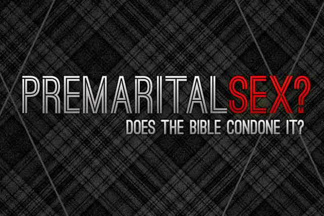 pre marital sex in the bible