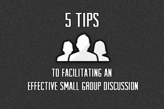 how to facilitate a help group