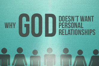 do muslims have a personal relationship with god