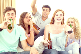 Alcohol use in teens